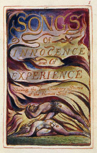 Frontispiece to Songs of Innocence and of Experience